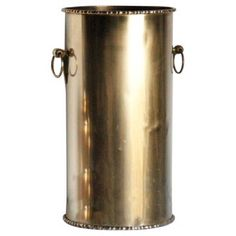 Check out this item at One Kings Lane! Solid Brass Umbrella Stand