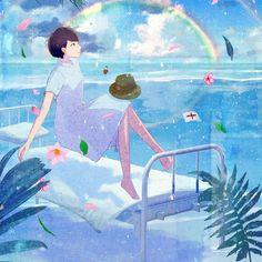 Yukihiro Nakamura Web Anime Scenery, Photo Illustration, Hobbit, Anime Art, Painting, Paintings, Draw, Drawings, The Hobbit
