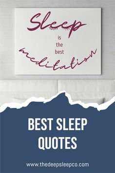 We have put together a list of our favourite sleep quotes to share with you. On the list you will find the best quotes, sayings, and truisms relating to sleep, insomnia and relaxation. #sleepspo I Love Sleep, Sleep Help, Good Night Sleep, Make A Quote, Irish Proverbs, Well And Good, Sleep Quotes, Sleeping Alone, Best Meditation