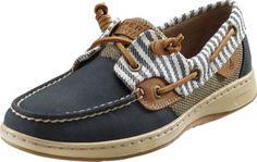 Sperry® Women's Bluefish Marinier Stripe Two-Eye Boat Shoes