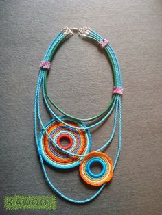 [Necklace] Crochet: