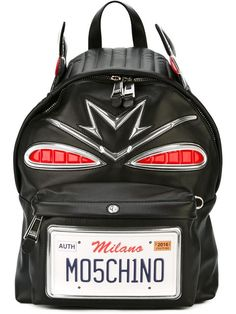 85893e7c1e49 MOSCHINO Car Backpack.  moschino  bags  leather  backpacks   Moschino Bag