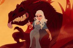 Si « Game Of Thrones » était un dessin animé Disney