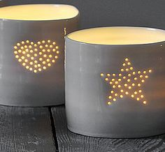 Make the festive season sparkle with our magical selection of light decorations for Christmas. Find on-trend copper fairy lights, hanging stars, light up letters and much more. Chandeliers, China Vase, Diy Luminaire, Coil Pots, The Potter's Wheel, Paperclay, Candle Lanterns, Ceramic Clay, Fine Porcelain