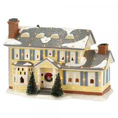 I WANT THIS HOUSE!!!!!!!!!!!!!!!!!!!!!!!!!!!!!!!!!!!!!!!!!!Department 56 Christmas Vacation Snow Village The Griswold Holiday House 4030733