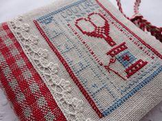 Beautiful stitching, beautiful blog