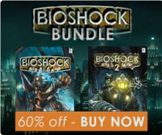 Get the BioShock Bundle with BioShock 1 and 2 for Mac