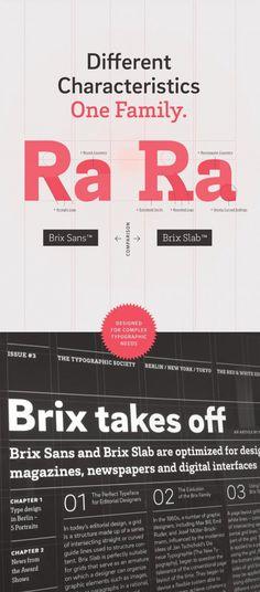 Brix Sans | Slanted - Typo Weblog und Magazin