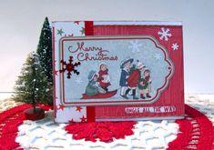 Christmas Card Sled - Scrapbook.com