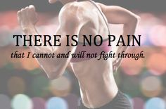 I'll cut my shoulder off before it stops me from being able to compete.