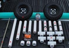 Palmetto Kayak Fishing: DIY Bulletproof Kayak Cart - Build Instructions + Pics