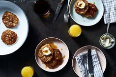 Overnight Oatmeal Pancakes  recipe on Food52