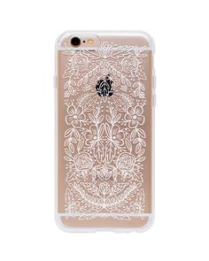 Rifle Paper Co. Clear Floral Lace iPhone 6 case
