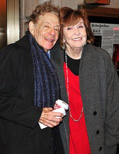 JERRY STILLER & ANNE MEARA.  Stiller and Meara — the parents of Ben Stiller — have kept the laughs and love coming since they wed in 1954.
