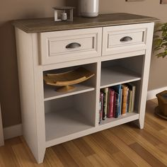 Ameriwood Entry Hall Storage Console | Overstock.com Shopping - Great Deals on Decorative Organizers
