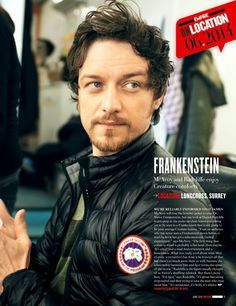 James McAvoy - Frankenstein. I'm looking forward to this movie in 2015. I hope…