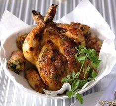 Rodinný oběd: Pečené kuře s nádivkou , Foto: Vánoční kuchařka pro dceru Turkey, Meat, Peru, Beef