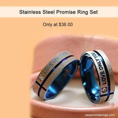 It is implied to maintain one sexually pure until true love and also marriage is located. This type of promise ring is a constant suggestion to the wearer to stay abstinent up until marital relationship. Princess Promise Rings, Beautiful Promise Rings, Rose Gold Promise Ring, Promise Rings For Couples, Rings For Men, Tungsten Carbide Wedding Bands, Stackable Bands, Diamond Anniversary, Cute Rings