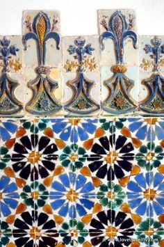 Azulejos in Sintra, Portugal