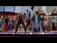 Piano scene from movie Big (1988) - YouTube.  I love this scene and this movie!