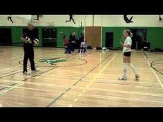 Advantage Volleyball-Beginner tracking drill