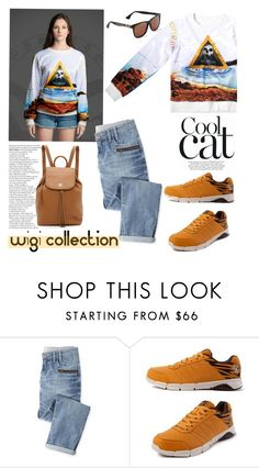 """""""Cool cat/WiGi Collection"""" by helenevlacho ❤ liked on Polyvore featuring moda, Wrap, Tory Burch e wigicollection"""