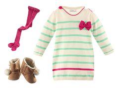 Süßes Strickkleid für Babys - Nur € 5,99