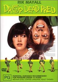 """""""hello snot face"""" . such a silly kids movie - but I really really still love it from my childhood. Especially the scene where drop dead fred is making her throw food around the restaurant."""