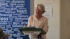 The personal and family impacts of ME & the changing face of the research community WellMe AGM 2017 Guest Speaker Phillida Bunkle HD Flu Symptoms, Light Eyes, Guest Speakers, Private Practice, Hd 1080p, Depression, Anxiety, Stress, Training