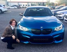 Ms. Allanah Stake is thrilled with her gorgeous new 2017 BMW M2! We second that feeling!!! #ztmotorshappyclients #emeraldcoast #bmwfwb #bmw