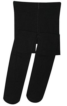 DZSbestdeal Girls Microfiber Footed Tight Black Medium *** Check this awesome product by going to the link at the image.Note:It is affiliate link to Amazon.