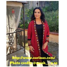 Islamic Clothing from Turkmenistan http://www.zarinas.com/