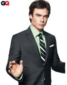 Ian Somerhalder - Who doesn't love a man in a suit