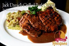 Jack Daniel's Grilled Pork Chops