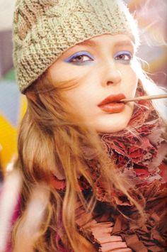 Autumn makeup