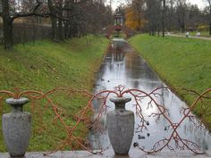 fence idea from Tsarskoe selo