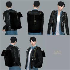 SIMS4 marigold: Male Backpack_백팩_남자 가방