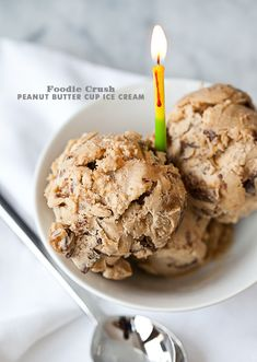 27 Truly Magnificent Peanut Butter Desserts: Peanut Butter Cup Ice Cream