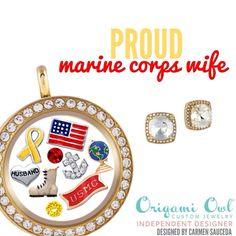Proud Marine Corps Wife