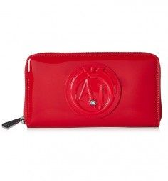 Portemonnaie in Rot Marken Outlet, Armani Jeans, Zip Around Wallet, Bags, Beauty Products, Handbags, Red, Totes, Lv Bags