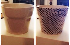 """My """"new"""" handmade cachepot.... By me!!!!"""