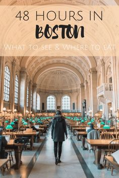 How to spend 48 Hours in Boston. A Boston Travel Guide Things to do. What to see and where to eat! Exploring Boston beyond the Freedom Trail. All you need for 48 hours in Boston!