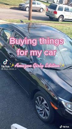 Bling Car Accessories, Best Amazon Buys, Car Seat Organizer, Girly Car, Car Interior Decor, Car Essentials, Lux Cars, Girl Life Hacks, Car Gadgets