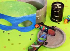 Teenage Mutant Ninja Turtles party ideas. #TMNTparty #BirthdayExpress