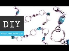 How to Make a Wire Link Bracelet with The Bead Place - YouTube