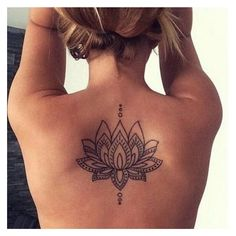 60 Awesome Back Tattoo Ideas For Creative Juice ❤ liked on Polyvore featuring accessories and body art