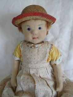 """---16"""" Steiff doll (never knew Steiff made dolls?)"""