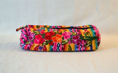 Guatemala  Handmade Floppy Toiletries or Makeup Bag  by PIDcrafts