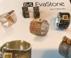 NEW! Jewelry with diamonds by Eva Stone in Margot Studio