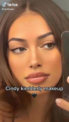 Eyeshadow Makeup, Lip Makeup, Makeup Tips, Beauty Makeup, Cute Makeup Looks, Natural Makeup Looks, Model Makeup Tutorial, Androgynous Makeup, Fresh Face Makeup